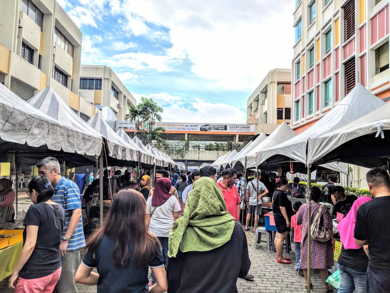 Asia City Ramadhan Bazar in Kota Kinabalu, Sabah