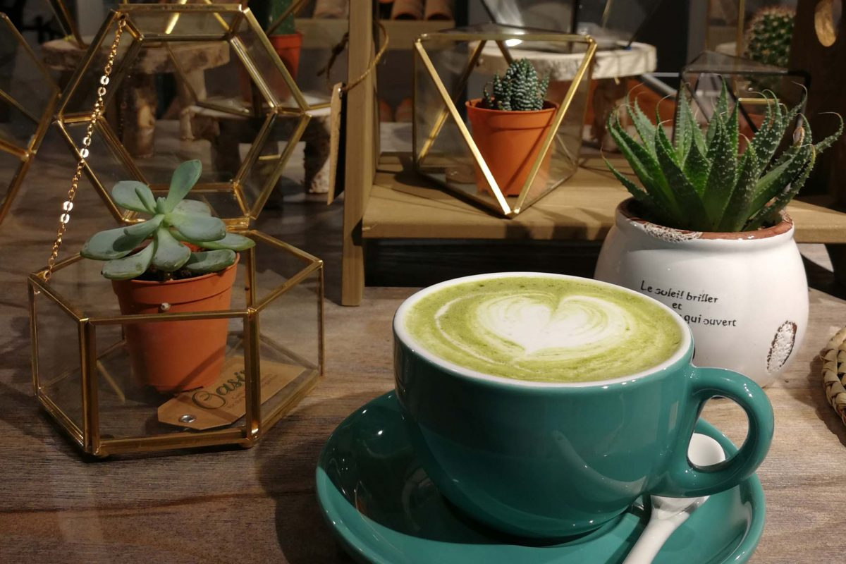 Top Green Tea Latte/ Matcha in KK, Sabah