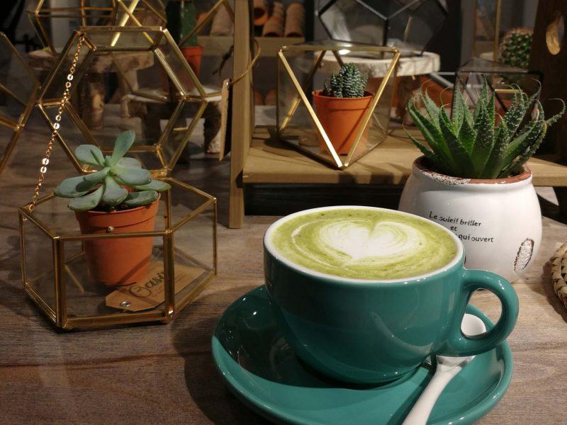 Top Green Tea Latte/ Matcha in KK, Sabah