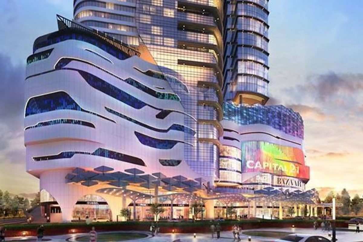 Johor Bahru's Capital 21 Mall with Largest Indoor Theme Park in Asia