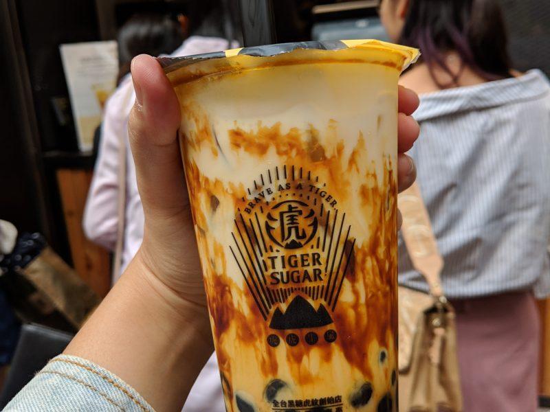 Brown Sugar Bubble Tea Taking Over Hong Kong