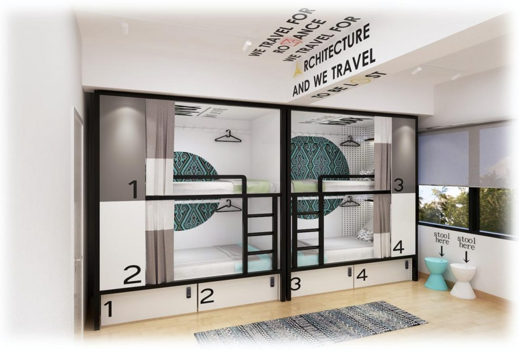 Toojou Social Hostel_Kota Kinabalu Sabah_Rooms