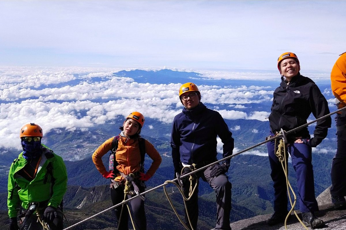 Alpine Sport Climbing on Mount Kinabalu